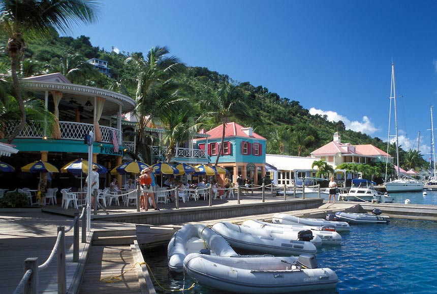 Sopers Hole Marina, West End BVI by Mark Goebel ©cc2.0
